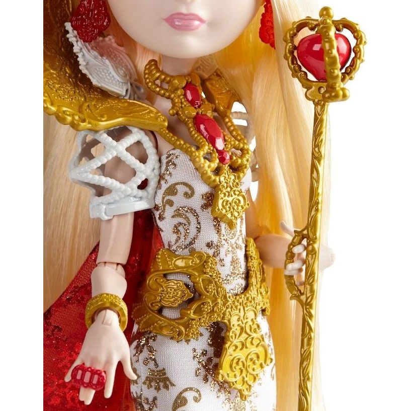 Ever After High Doll Stand Girl Gold Clear Gold